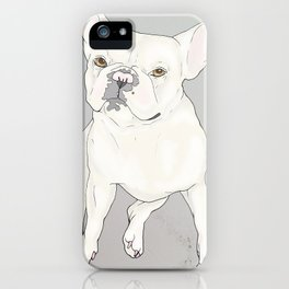 """""""Frenchie Love"""" iPhone Case"""