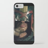 ed sheeran iPhone & iPod Cases featuring Dredd[ed] by Mel Hampson