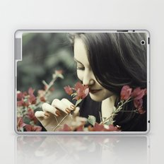 The Flower Lady Laptop & iPad Skin