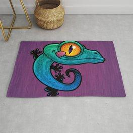 Colorful Gecko Rug