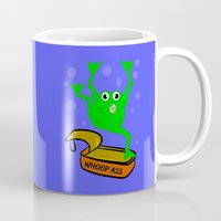 frog Mugs featuring Frog by mailboxdisco
