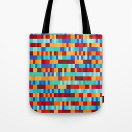 Bach Invention (Fire and Iceberg Colours) Tote Bag
