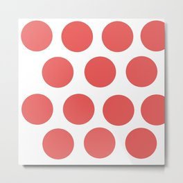 CirclePink Metal Print