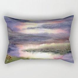 Intense Sky Rectangular Pillow