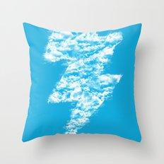 Lightning Peace Throw Pillow