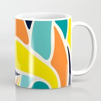 wind Mugs featuring Wind by Josh Franke