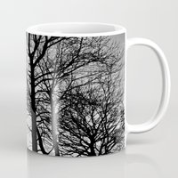 house stark Mugs featuring Stark by MLauxDesign