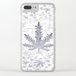 Dust of Snow Clear iPhone Case
