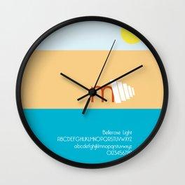 CRAB - FontLove Wall Clock