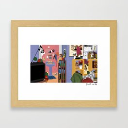 Enid's Bedroom - Ghost World Framed Art Print