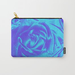 Satin Rose Carry-All Pouch