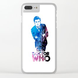 WHO / DAVID Clear iPhone Case