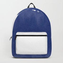 Indigo Blue Dip Dye Backpack