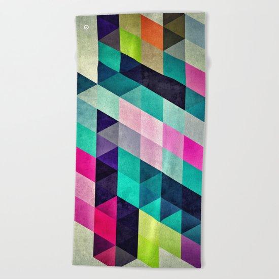 Cyrvynne xyx Beach Towel