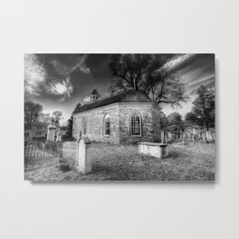 Old Dutch Church Of Sleepy Hollow Metal Print