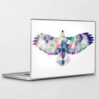 hawk Laptop & iPad Skins featuring Hawk by NKlein Design