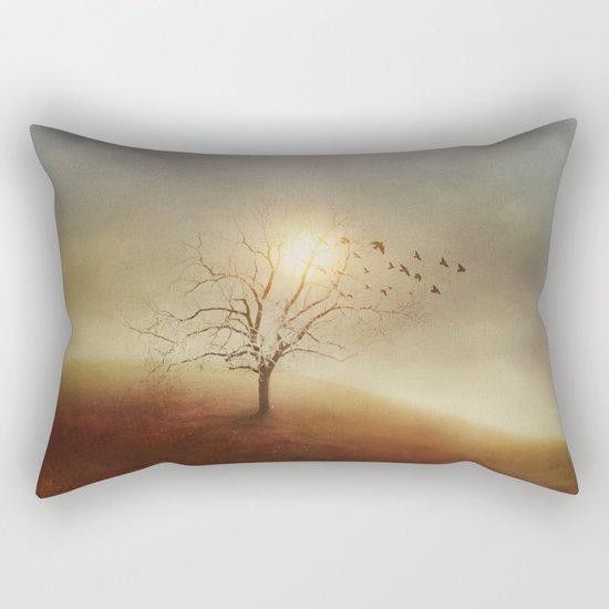 Lone Tree Love I Rectangular Pillow