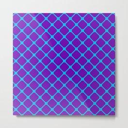 Square Pattern 1 Metal Print