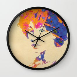 Ode To Corrine Wall Clock