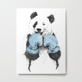 panda the winner Metal Print