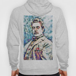 Giacomo Puccini (1858 – 1924) digitized photography Hoody