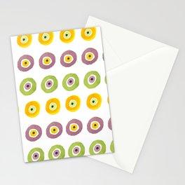 Contemporary Evil Eye Pattern No1 Stationery Cards
