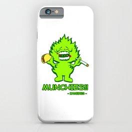 Munchies iPhone Case