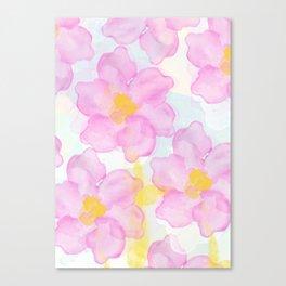 Dazed Flower Canvas Print
