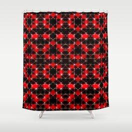 Star Cart Shower Curtain
