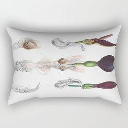 Luminous Organs Rectangular Pillow