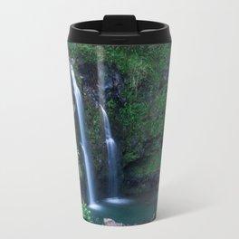 Upper Waikani Falls // Horizontal Travel Mug