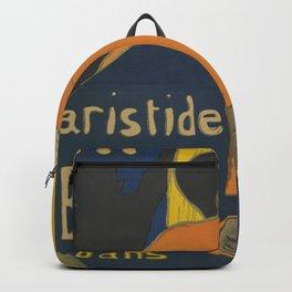 "Henri de Toulouse-Lautrec ""Eldorado: Aristide Bruant"" Backpack"