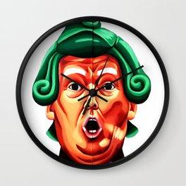 Oompa Loompa Trump Wall Clock