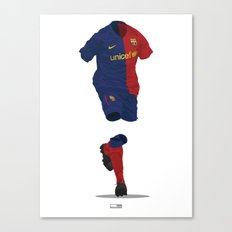 Barcelona 2008/09 - Champions League Winners Canvas Print