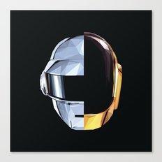 Daft Punk Polygon Canvas Print