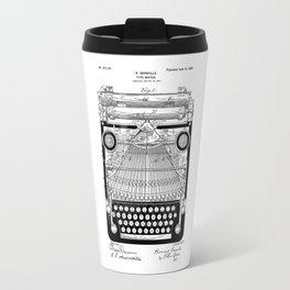 patent art Granville Type Writer 1900 Travel Mug