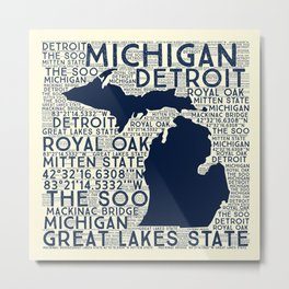 The Soo Michigan Metal Print
