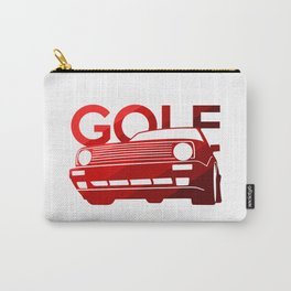 Volkswagen Golf - classic red - Carry-All Pouch