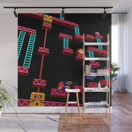 Inside Donkey Kong stage 3 Wall Mural