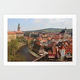Little Czech Art Print