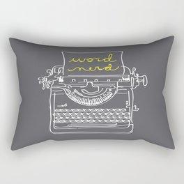 Word Nerd Rectangular Pillow