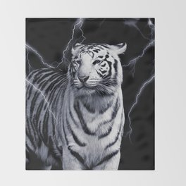 SPIRIT TIGER OF THE WEST Throw Blanket