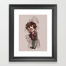 will graham Framed Art Print