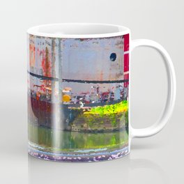 Pointillism: Snoqualmie Falls Coffee Mug