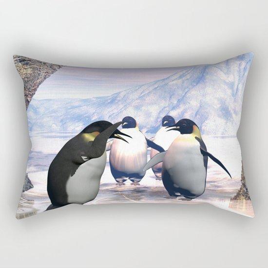 Funny penguin  Rectangular Pillow