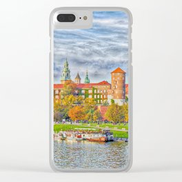 cracow - wawel Clear iPhone Case
