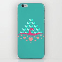 Be Beautiful - Be Colourful Peacock iPhone Skin