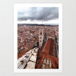 Campanile de Giotto Art Print