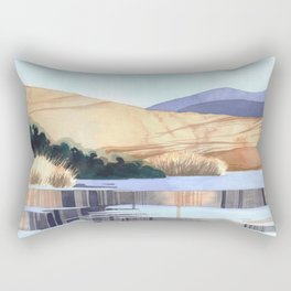 Landscape - Watercolor Rectangular Pillow