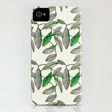 Watercolor Leaves Slim Case iPhone (4, 4s)